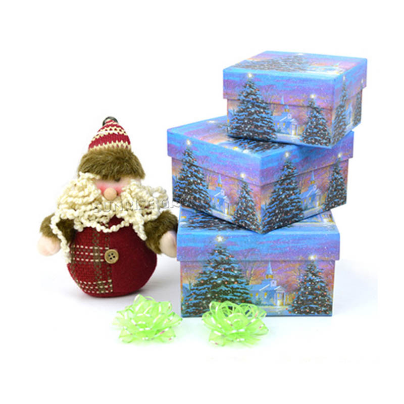 Hand-made Custom Hot Selling Best Christmas Gifts Packaging Box for Kids