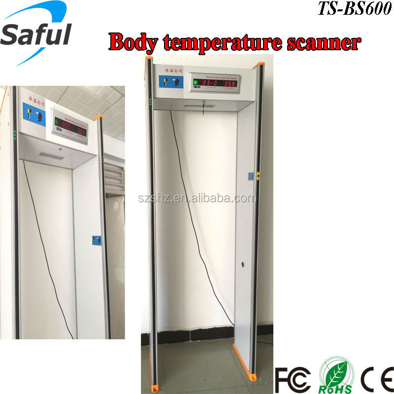2015 hot public security Infrared measuring body temperature scanner for mers
