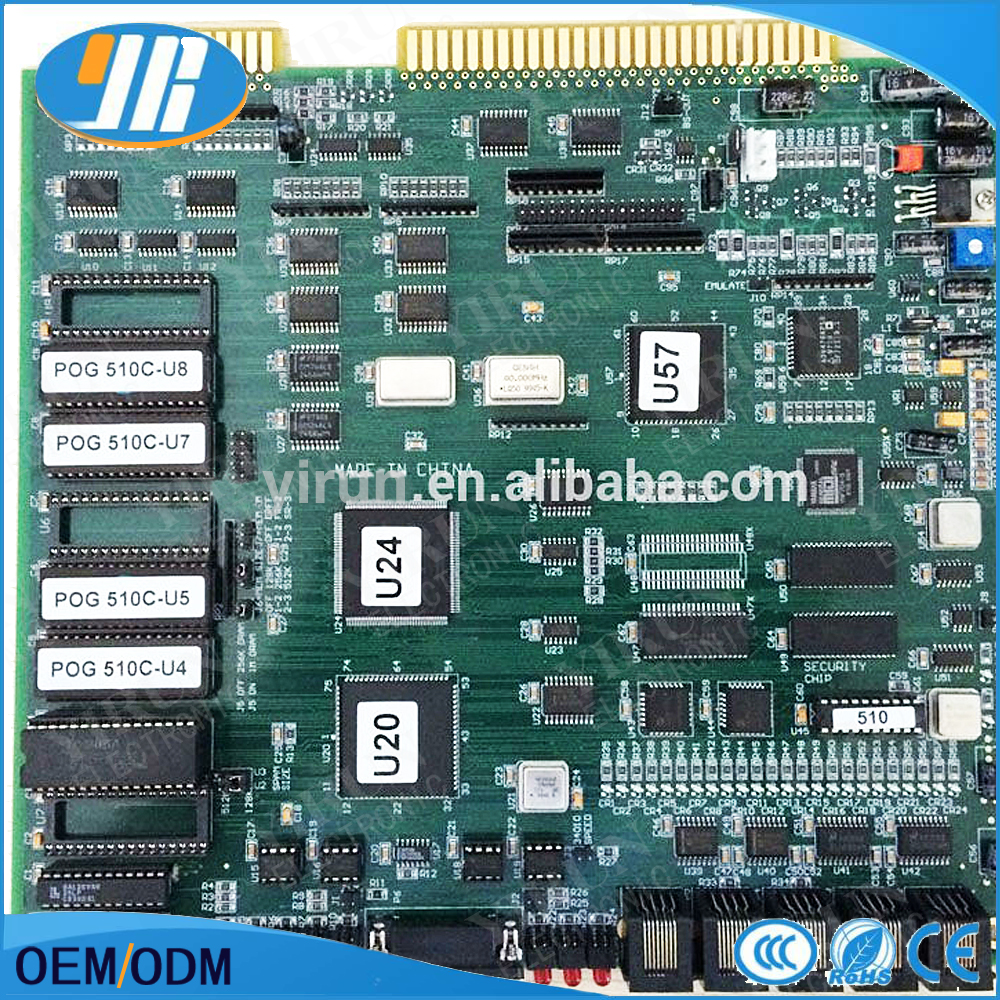 game pcb board IN STOCK ! 510 version T340+ POT O GOLD Game Board POG