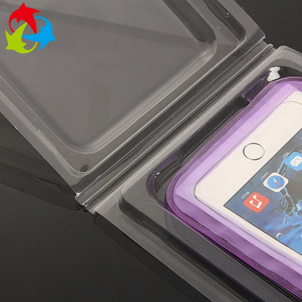 Hot selling plastic blister packaging box for screen protective film