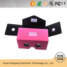 New VR Google glasses two generation folding 3D glasses