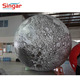 Giant inflatable helium moon balloon planet model for scientific decoration