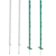 Green And Black Electric Fencing Posts