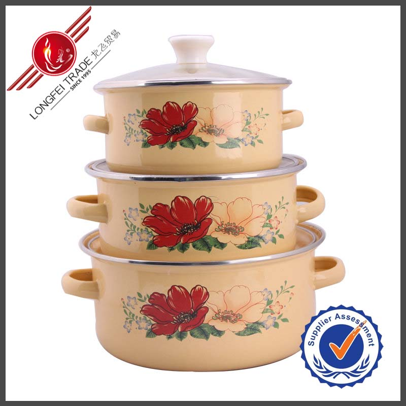 2014 Hot New Enamel Cookware China Housewares Products In Made
