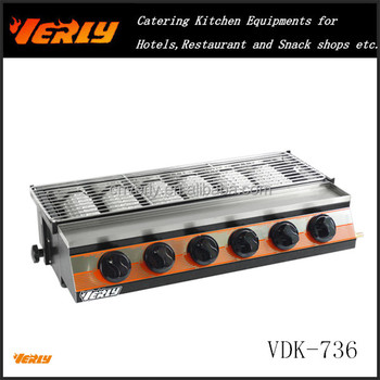 Indoor Gas Bbq Grill/commercial Gas Barbecue Oven/gas Bbq Grill ...