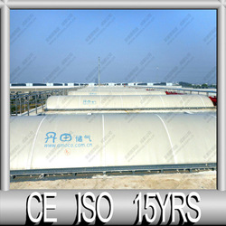 2016 Popular CE Certify double Membrane Biogas Storage Cover for Biogas