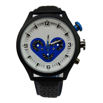 Top brand stylish brand sports watch 3D face chronograph fancy men s watch  Japan movement stainless steel 9600d55be812