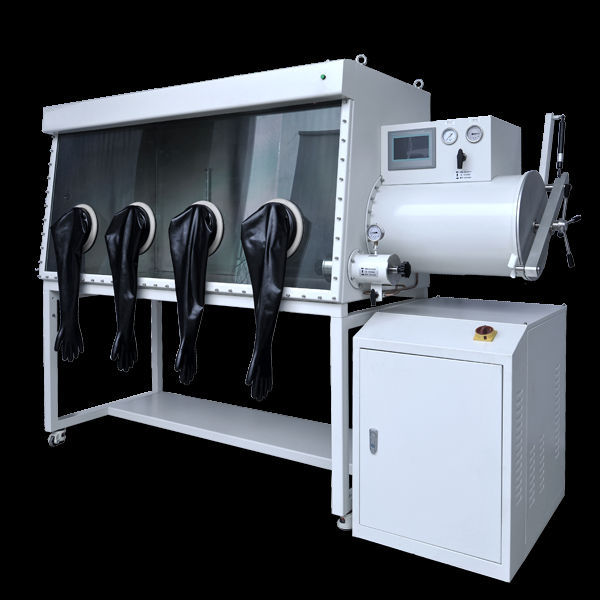High quality vacuum glove box with gas purification system manufacture,oxygen ,<1ppm moisture removing standard