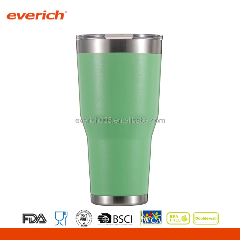 Insulated Travel Mug With Straw