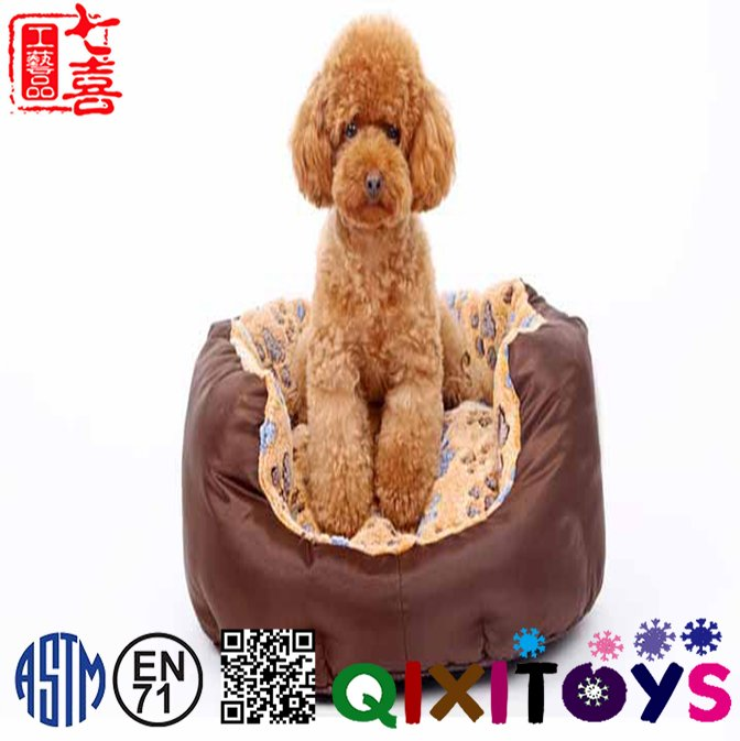 Logo Adding Factory Price Cute and Plush Dog Bed, Dog Cave Bed Wholesale Dog Cat House