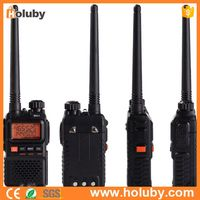 Interphone Two Way Radio Walkie Talkie with Dual Band UHF Mobile Radio+VHF Radio