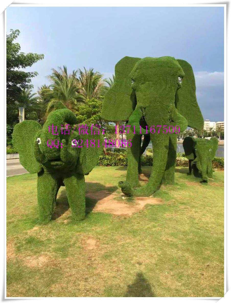 Huge Artificial Topiary Giraffe Fake Grass Animal Metal Frame Animal Metal Garden  Animals, Artificial Plant