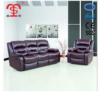 Sx 8869 Genuine Leather Sofa Living