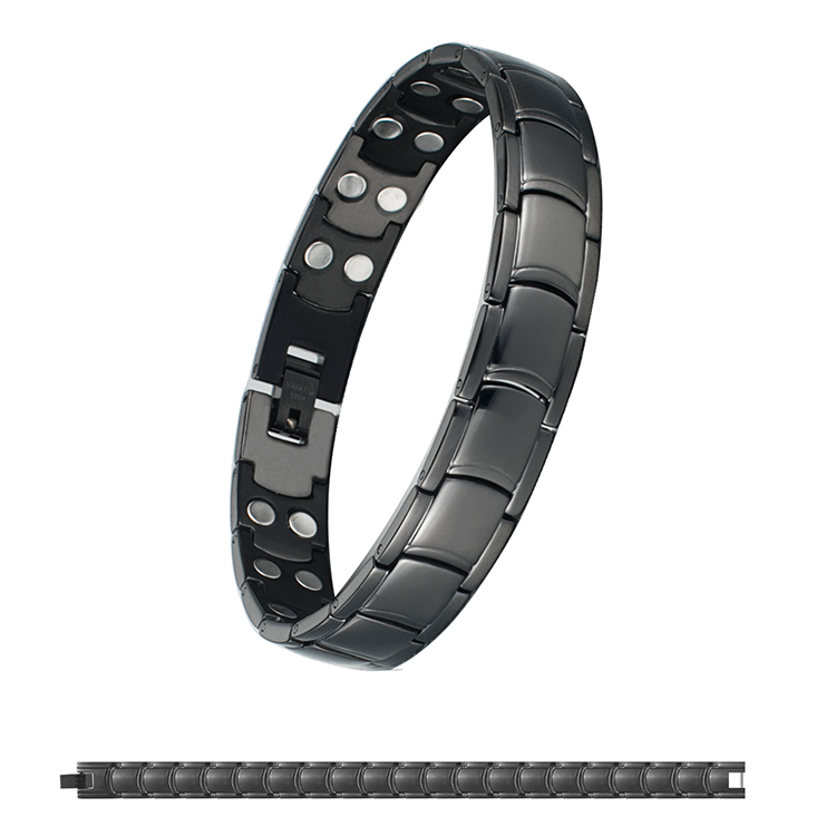 2019 Newest OEM 3500 Gauss Magnets 5 in 1 Magnetic Bio Healing Bracelet