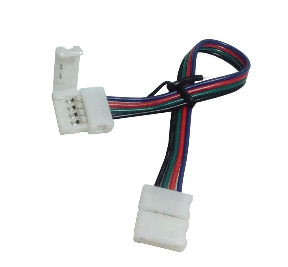 Cheap Led Strip Connector 4 Find Deals On Quick Adapter Wiring Multi Color Rgb 5050smd Get Quotations For Indoor 100pcs 10mm Pcb Pin 2 Ends