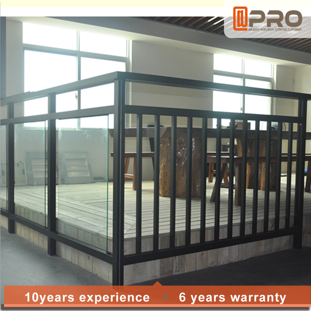 Modern house grill design aluminum balcony railing for alibaba china