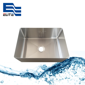 16Gauge Stainless Steel Sink With Etched Scale For Restaurant