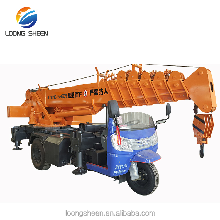 3 ton mini lifting crane fassi type high up crane for sale with CE