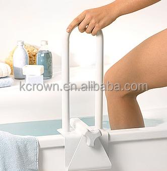 Nylon plastique pvc baignoire handicap barre d 39 appui id for Grande baignoire plastique