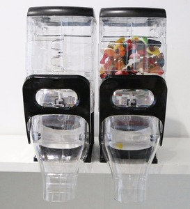 Acrylic Food Bins Topping Dispenser FOR SALE