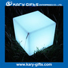 LED cube light illuminated led bar table and chair lighting glow cube furniture