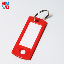 Factory cheap price mini plastic blank key tags for office hotel