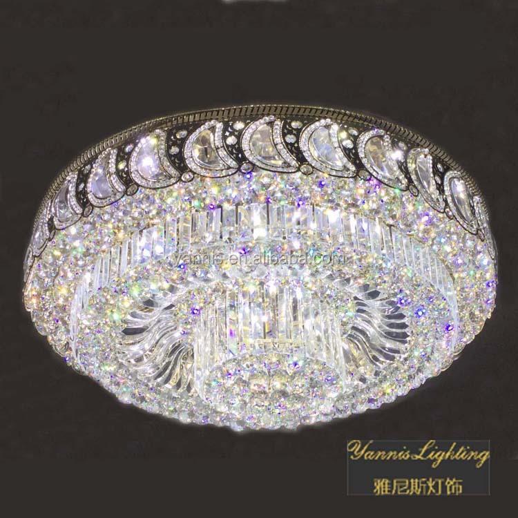 lustre moderne lampe pendentif en cristal plafonnier. Black Bedroom Furniture Sets. Home Design Ideas