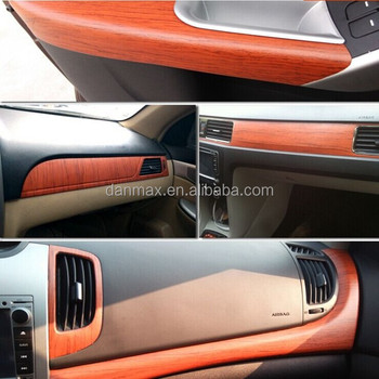 Best selling car decoration car sticker design car wood grain sticker
