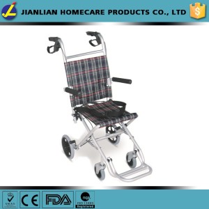 flip-up armrest wheelchair for children small wheel wheelchair JL9001LJ