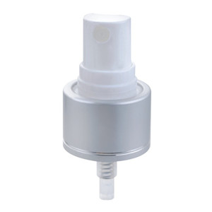 Output 0.14ml ribbed closure for finger sprayer and micro sprayer perfume screw mist sprayer pump