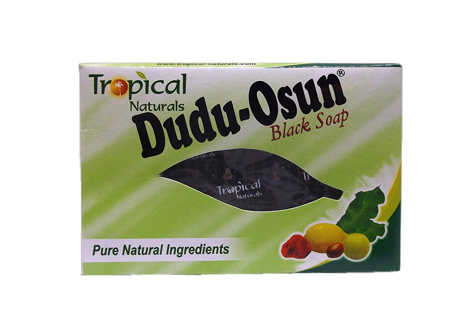 (12 Bars) NEW Tropical Naturals Dudu Osun African Black Soap in Convenient 5.5 oz (150g) Bar Form­All Natural, Eco­Friendly, Antibacterial Ingredients Proven Successful in Treating/Prevention of Acne, Blackheads, Skin Scales, Hemorrhoids and More. BEST PRICE ON AMAZON.COM! Best Soap for Carpenters,