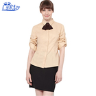 Receptionist hotel uniform for front desk service hotel staff with housekeeping uniform dress