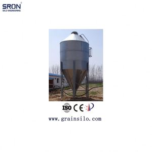 Hot Galvanized Steel Small Grain Silos 3 Ton Capacity