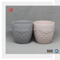 Chinese wholesale price color ceramic porcelain church candle holder