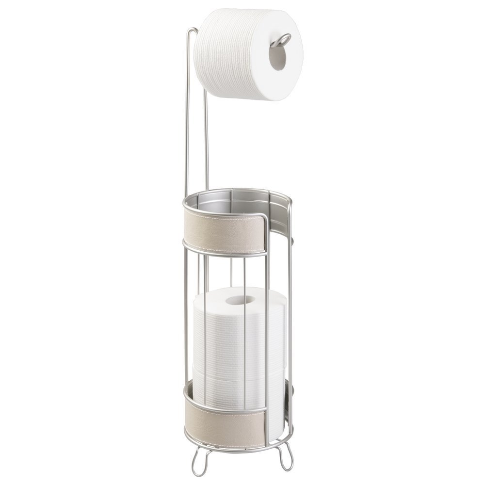 Toilet Paper Holder with Storage Taupe Taupe Taupe