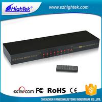 HD USB digital signal 8 port kvm splitter splitter switch with remote control