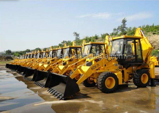 China 1995-2015 used backhoe/ tractor/ wheel loader with flexible price