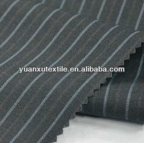 Fashion Worsted wool textile material in suit