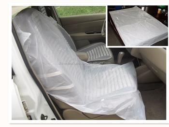 r paration automatique jetable housse de si ge de voiture en plastique en rouleaux buy housse. Black Bedroom Furniture Sets. Home Design Ideas