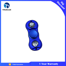 Double Leaf Pattern Aluminium Alloy Material Finger Gyro hydro spinner
