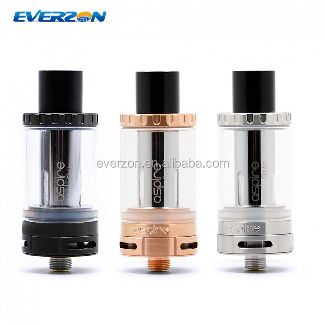 Authentic aspire Cleito Tank Sub ohm 3.5ml RTA Replacement 0.2ohm 0.4ohm Drip Tip Top Filling Cleito Cuffs Vape pen e cigs