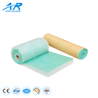 High Flame Resistance Glass Fiber Filter, Paint Arrestor Filter Paper Vent Filter Roll