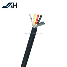 PVC Double Insulated Copper Wire Multi Core Shielded Cable UL2570