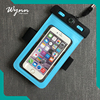 folding mobile phone pvc waterproof bag waterproof mobile pouch