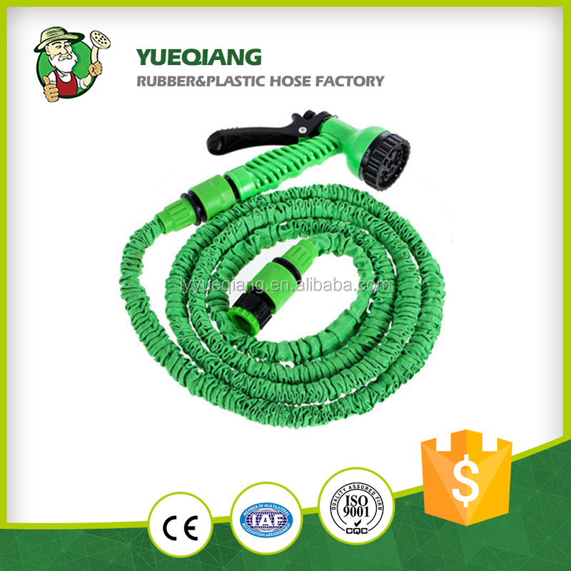 China supplier in home & garden expandable garden water brass fitting garden hose