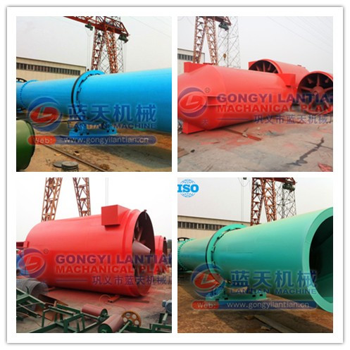 High efficiency CE ISO approved brown coal dryer rotary dryer for wood sawdust