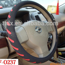 2017 Hot selling innovative car accessories winter heated car steering wheel covers for girls