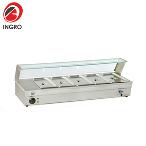 Wholesale Restaurant Table-Top Bain Marie/Stainless Steel Food Warmer Container/Mobile Food Warmer Carts,buffet bain marie