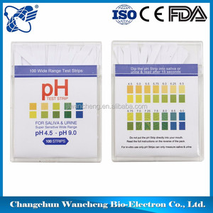 Quick Check pH test strip 4.5-9.0 0-14 accurate ph strips, Urine pH Test Strips