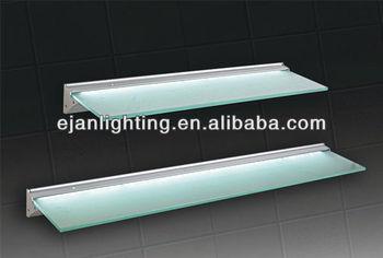 Led Illuminated Glass Cabinet Shelf Light For Kitchen And Display ...